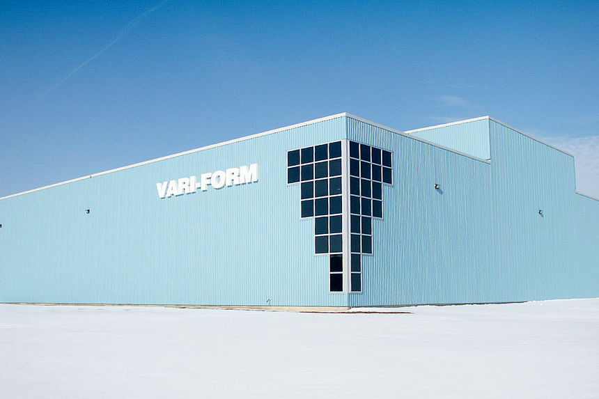 Industrial Design Build Project Photo - Vari-Form Plant Strathroy