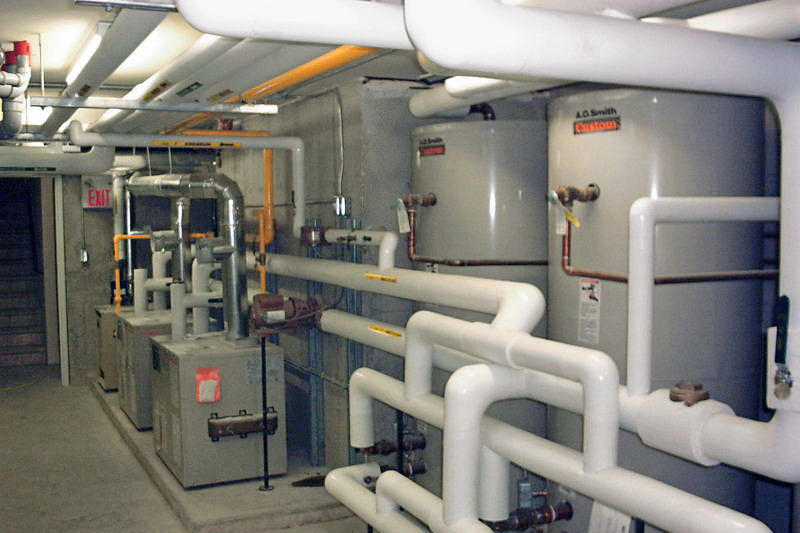 Mechanical Plumbing Project Photo