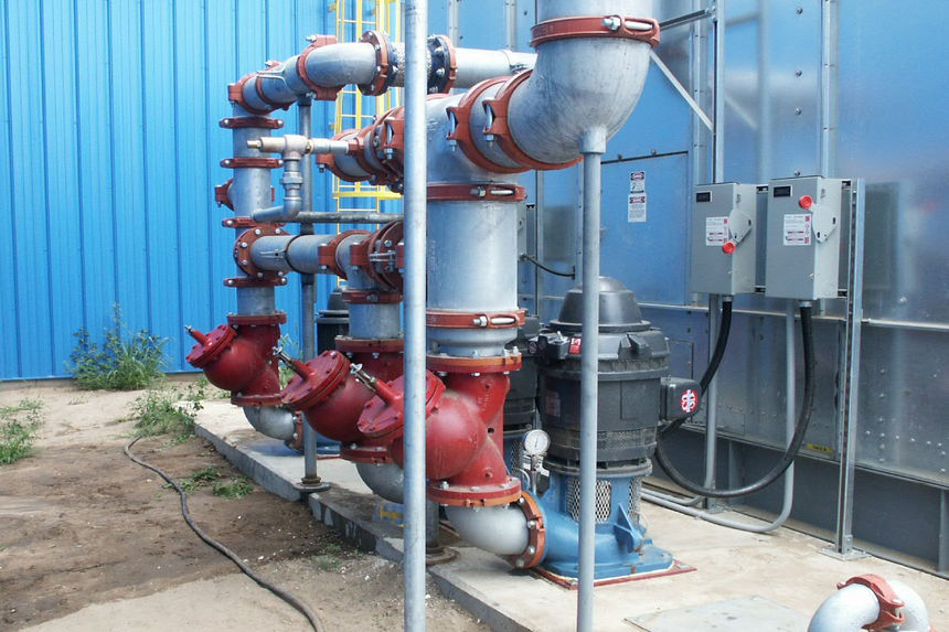 Industrial Mechanical Plumbing Project Photo